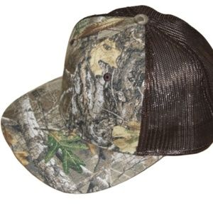 Realtree Camo Trucker Hat Meshback Snapback Cap NW